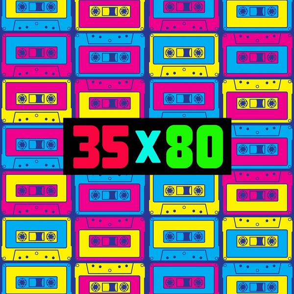 Radio 35x80 - Back to the 80s
