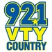 92-1 VTY Country - WVTY Logo
