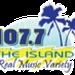 The Island 107.7 - KSYZ Logo