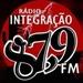Radio Integração 87.9 Logo