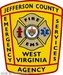 Jefferson County Fire EMS and Law Enforcement Logo