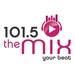 101.5 The Mix - WVES Logo
