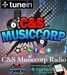 C&S Musiccorp radio Logo