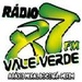 Rádio 87 FM Vale Verde Logo