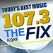 The Fix 107.3 - KQXF Logo