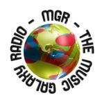 The Music Galaxy Radio (MGR) Logo