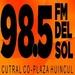 FM Del Sol 98.5 Logo
