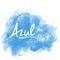 Azul 106.9 - XHAC Logo