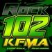 Rock 102 - KFMA Logo