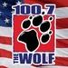 100.7 The Wolf - KKWF Logo