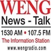 News-Talk 1530 - WENG Logo