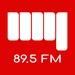 89.5 MY FM Logo