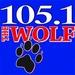 The Wolf - KMJX Logo