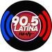 Latina 90.5 FM Logo