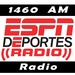 1460 ESPN Deportes - KENO Logo
