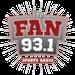 93.1 The Fan - WWSR Logo