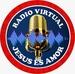 Radio Virtual Jesus es Amor  Logo