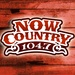 Now Country 104.7 - CIUR-FM Logo