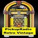 PickUpRadio - Retro Vintage Logo