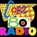 Cafe 80s Radio Logo