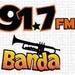 Banda 91.7 FM - XECU Logo