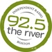 92.5 The River - WFNX Logo