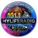 101.1 My Life Radio Logo