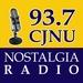 Nostalgia Radio 93.7 - CJNU Logo
