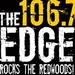 The EDGE 106.7 - KMDR-HD2 Logo