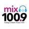 Mix 100.9 - KQSR Logo