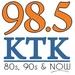98.5 KTK - WKTK Logo