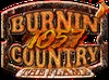 Burnin' Country 105.7 - WFFM Logo