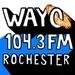 WAYO 104.3 FM - WAYO-LP Logo