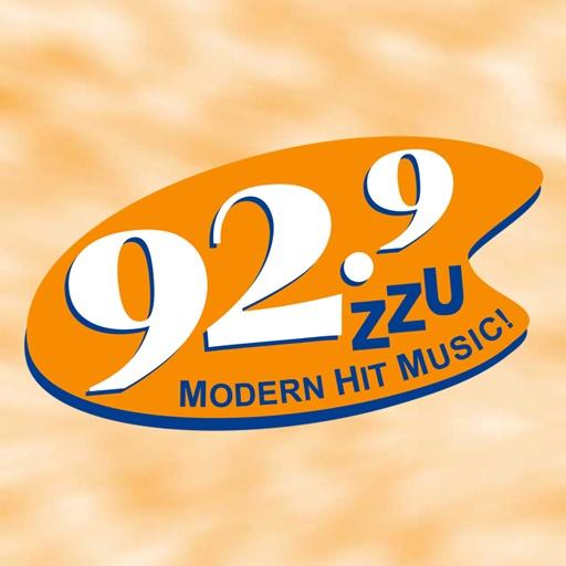 92.9 ZZU - KZZU-FM