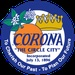 Corona Police Secondary (Green) Logo