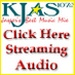 KJAS 107.3 FM Logo