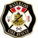 Waterloo County, ON Canada Fire Logo