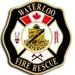 Waterloo County, ON Canada Fire Logo