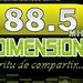FM Dimension 88.5 Logo
