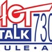 Hot Talk 730 AM - KULE Logo