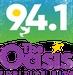 94.1 The Oasis - WKAV Logo
