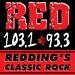 Red 103.1 - KHRD Logo
