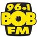 96.1 BOB FM - CKX-FM Logo