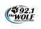 92.1 The Wolf - WDIC-FM Logo