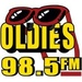 True Oldies 98.5 - KSAJ-FM Logo