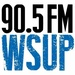 90.5 FM The Evolution - WSUP Logo