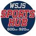 The WSJS Sports Hub - WPCM Logo