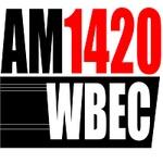 AM 1420 WBEC - WBEC Logo