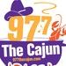 97.7 The Cajun - KAPB-FM Logo