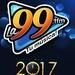 La 99 FM - XHMOR Logo